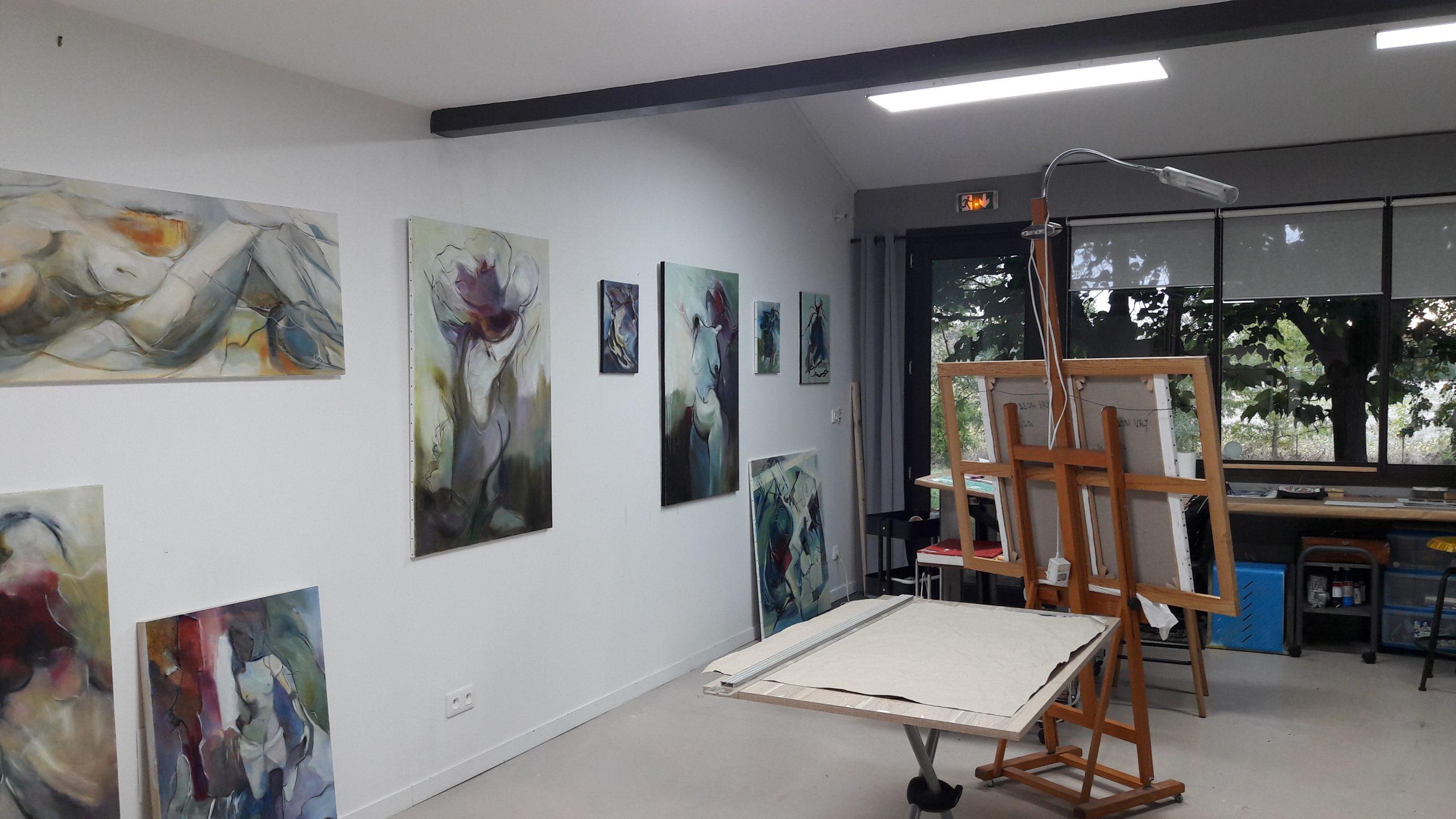 atelier vie d'artiste